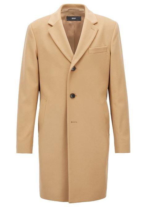 Cappotto in lana e cashmere con revers classico. Hugo Boss HUGO BOSS | Cappotti | 50394082263