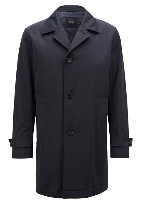 Cappotto corto idrorepellente in twill tecnico. Hugo Boss HUGO BOSS | Cappotti | 50394118480