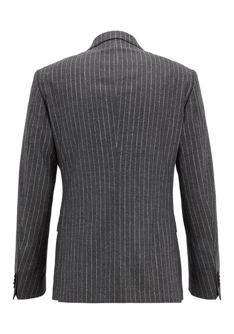 Abito gessato doppiopetto lana vergine. Hugo Boss HUGO BOSS ... 3c75785c4c60