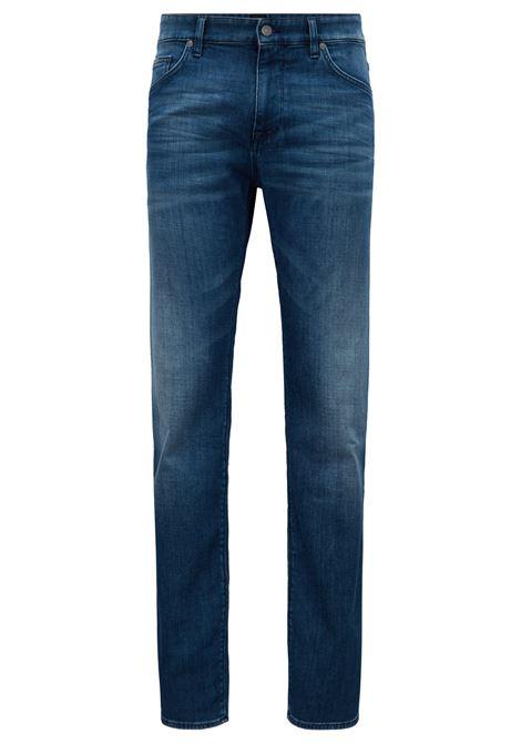 Jeans regular fit in denim elasticizzato. Hugo Boss HUGO BOSS | Jeans | 50394649425
