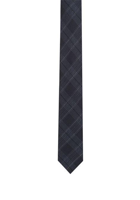 Cravatta a quadri in misto lana e seta. HUGO BOSS HUGO BOSS | Cravatte | 50395543411