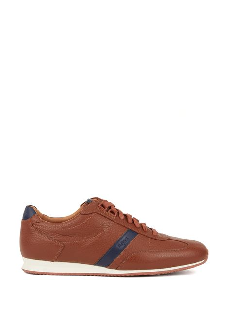 Sneakers low-top in pelle martellata. Hugo Boss HUGO BOSS | Scarpe | 50396736210