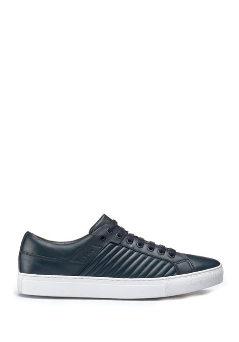 Sneakers in pelle d'agnello con dettagli matelassé. Hugo Boss HUGO BOSS | Scarpe | 50397119401