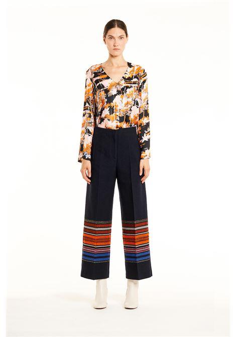 Pantalone culottes fondo rigato. JUCCA JUCCA | Pantaloni | J28140141525