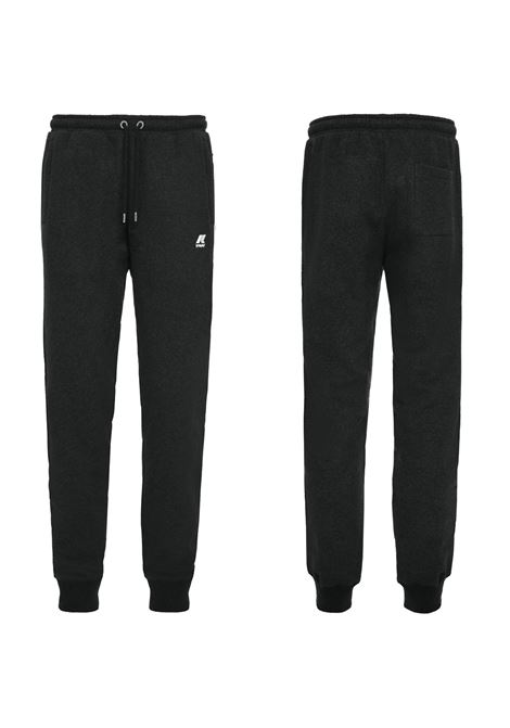 PANTALONE IN FELPA MICK FLEECE. K-WAY K- WAY | Pantaloni | K009KN0K02