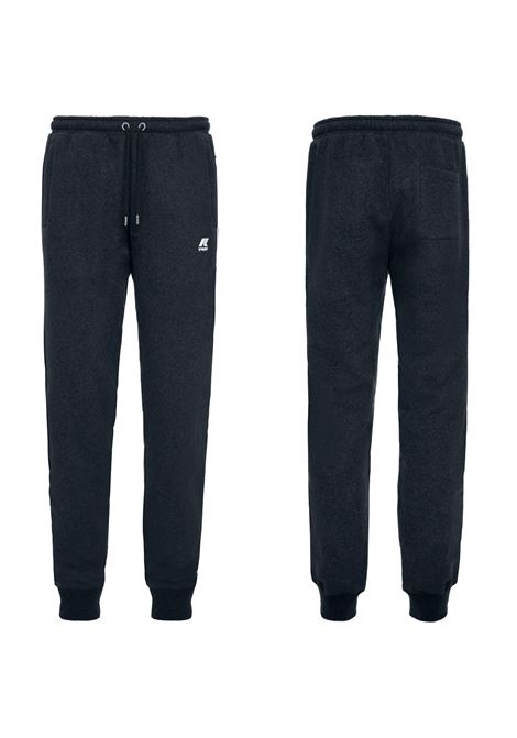PANTALONE IN FELPA MICK FLEECE. K-WAY K- WAY | Pantaloni | K009KN0K89