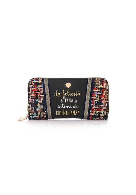 Portafoglio Everyday Wallet FELICITà Black. Le Pandorine LE PANDORINE | Portafogli | DBO0225803