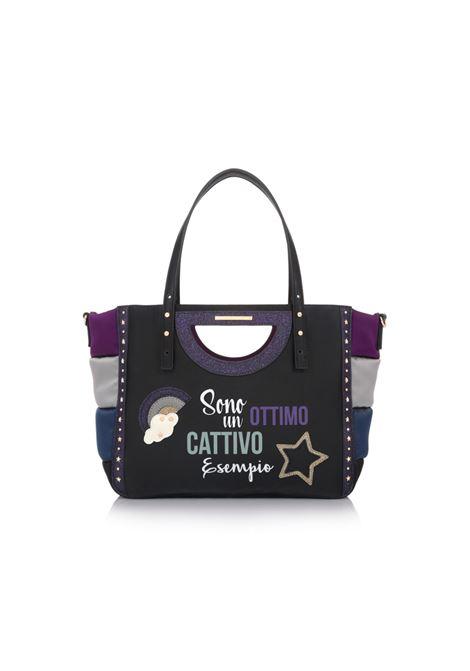 Borsa Patch Bag ESEMPIO Black. Le Pandorine LE PANDORINE | Borse | DBU0226401