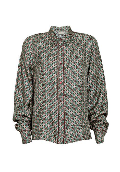 Camicia Aurora in twill di seta stampato. MOMONì MOMONI | Camicie | M0SH0012646