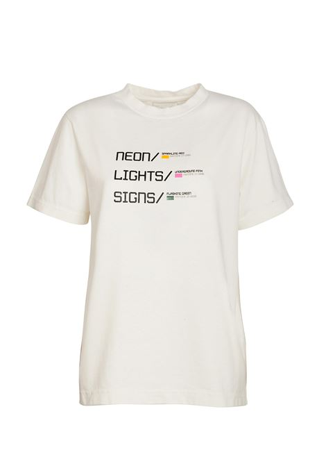 T-shirt Eliana Jersey stampato. MOMONì MOMONI | T-shirt | M0TS0070010