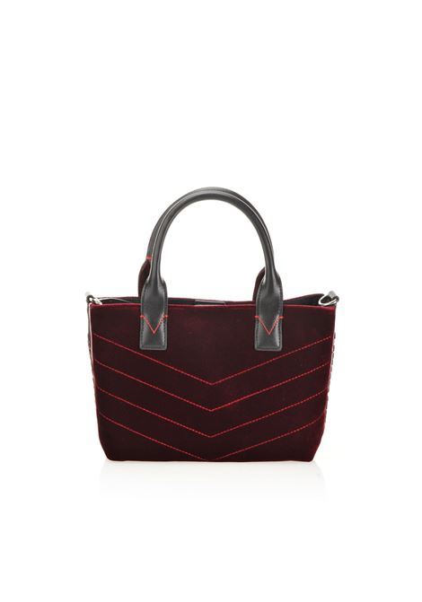 BORSA MINI SHOPPING BAG IN VELLUTO. PINKO BAG PINKO | Borse | 1H20HK-Y4PGW99