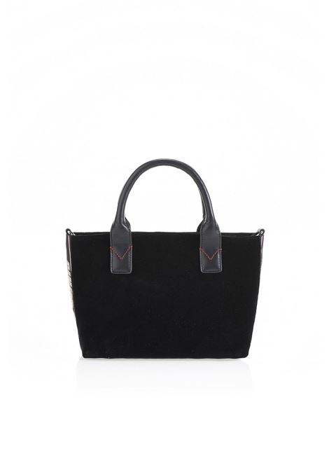 BORSA MINI SHOPPING BAG IN VELLUTO. PINKO BAG PINKO | Borse | 1H20HK-Y4PGZ99