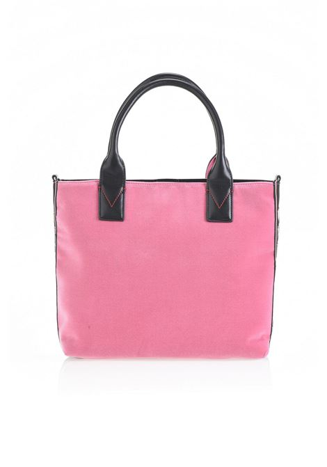BORSA SHOPPING BAG MEDIUM IN VELLUTO. PINKO BAG PINKO | Borse | 1H20HM-Y4PGP28