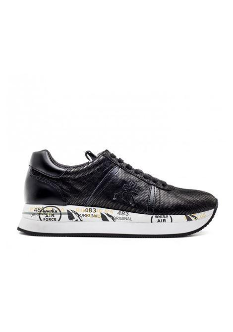 Sneaker in pelle e tessuto CONNY 3344. Premiata PREMIATA | Scarpe | CONNY3344