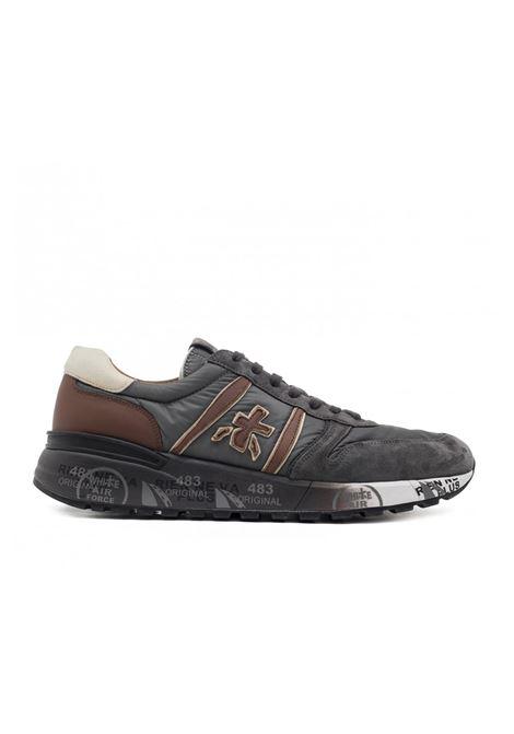Sneaker in pelle e tessuto LANDER 3243. Premiata PREMIATA | Scarpe | LANDER3243