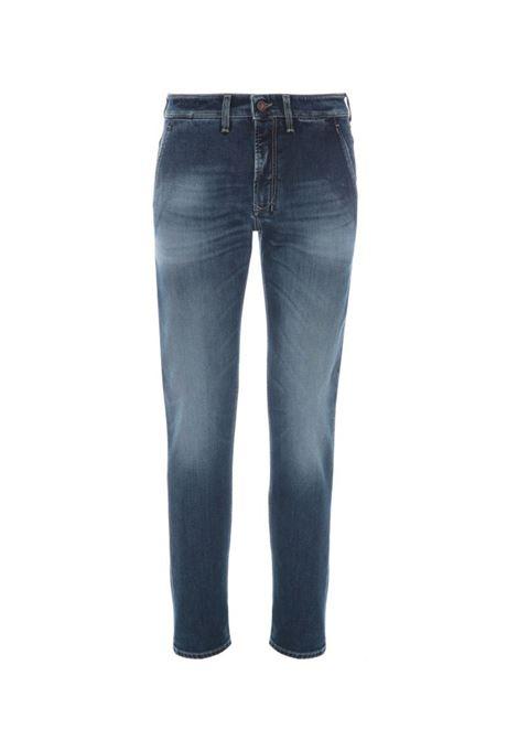 Pantalone denim con cuciture a contrasto. Siviglia SIVIGLIA | Jeans | 23M2 S4076002
