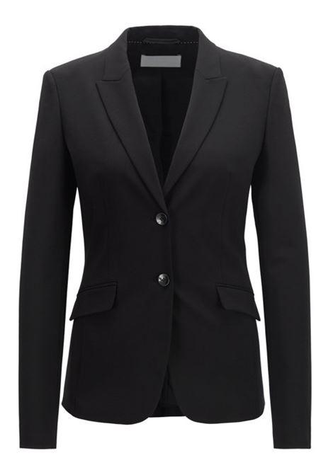 Blazer in lana elasticizzata con revers a lancia BOSS | Giacche | 50291853001