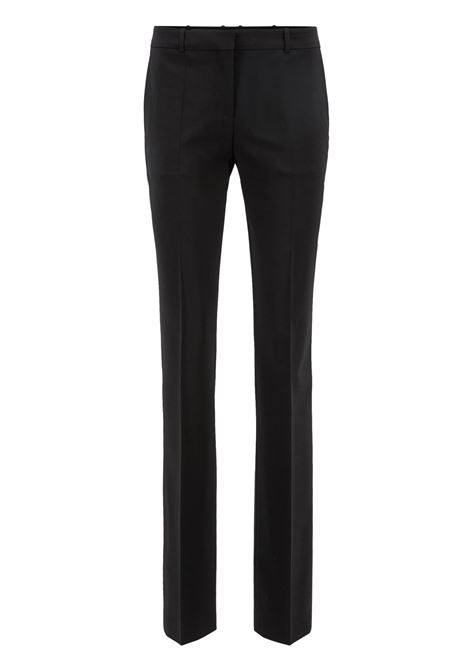 Straight-leg business trousers in stretch wool BOSS | Trousers | 50291873001