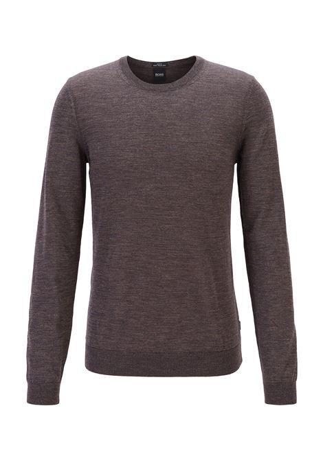 Maglione a girocollo in lana vergine BOSS | Maglie | 50378575203