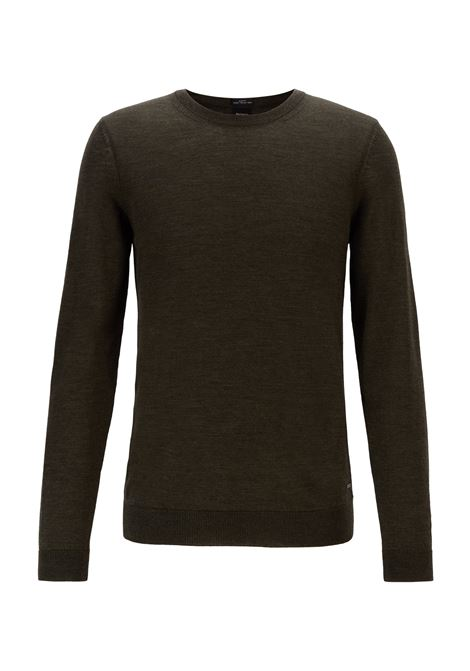 Maglione girocollo in lana vergine BOSS | Maglie | 50378575341