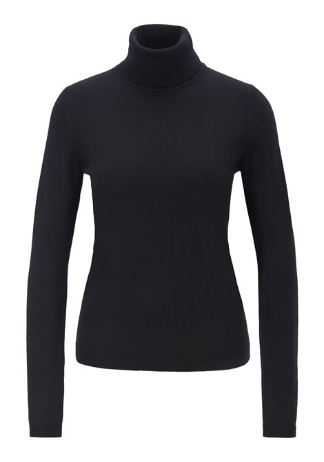 Roll-neck sweater in mercerised Merino wool BOSS | Sweaters | 50379079001