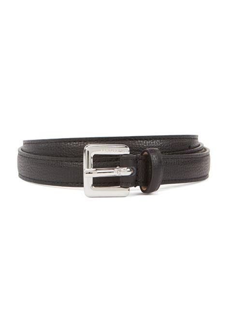 Cintura sottile in pelle martellata BOSS | Cinture | 50390644001
