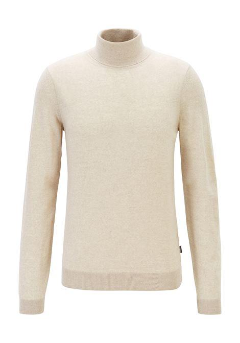 Maglione con colletto a tartaruga in pregiata lana merino realizzata in Italia BOSS | Maglie | 50392083102