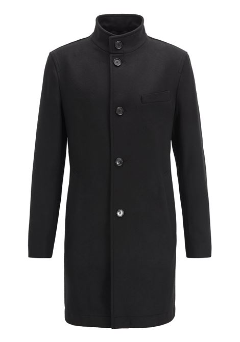 Slim fit coat in virgin wool and cashmere BOSS | Coat | 50395988001