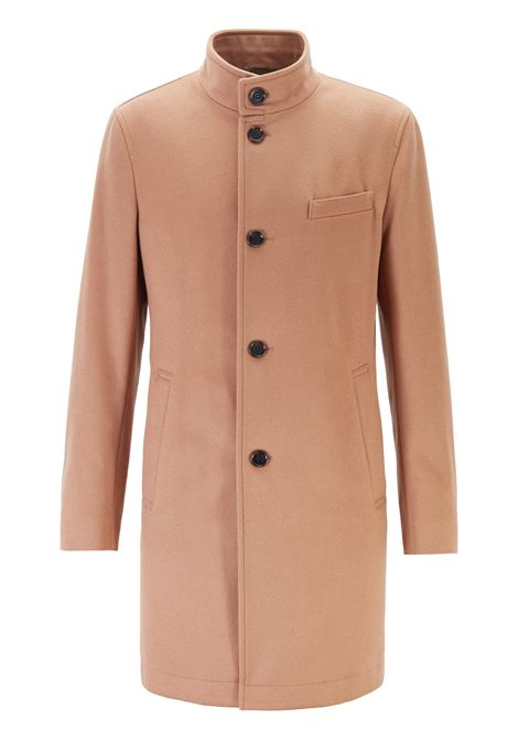 Slim fit coat in virgin wool and cashmere BOSS | Coat | 50395988267