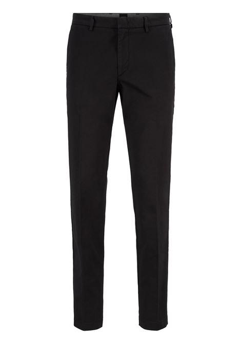 Chino slim fit in gabardine di cotone elasticizzato BOSS | Pantaloni | 50410310001