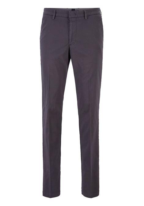 Chino slim fit in gabardine di cotone elasticizzato BOSS | Pantaloni | 50410310022