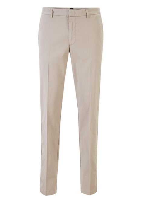 Chino slim fit in gabardine di cotone elasticizzato BOSS | Pantaloni | 50410310294