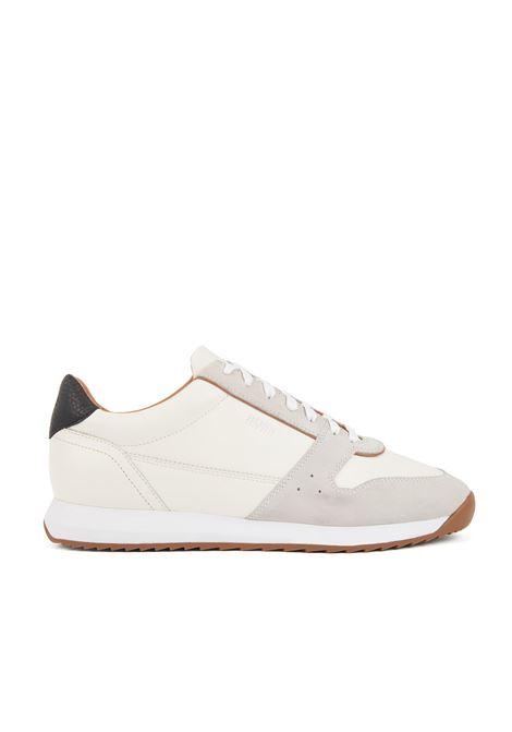 Sneakers stile runner in pelli miste BOSS | Scarpe | 50410978100