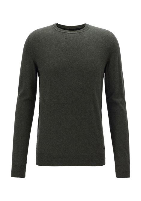 Maglione slim fit in cotone e cashmere BOSS | Maglie | 50411194346