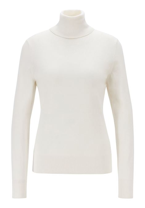 Slim-fit sweater in cotton, silk and cashmere BOSS | Sweaters | 50411623118