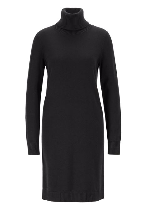 Rollneck sweater dress in a wool-cotton blend BOSS | Dresses | 50411628001