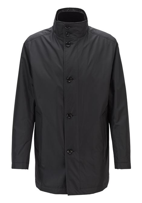 Water-repellent car coat with quilted lining BOSS | Coat | 50413262001