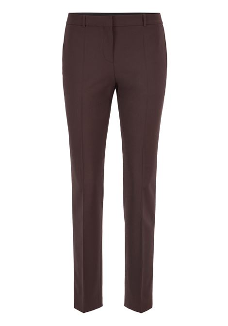 Regular-fit trousers in Italian stretch-virgin-wool BOSS | Trousers | 50414254203