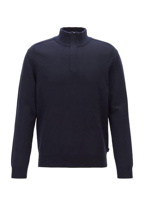 Maglione regular fit in lana vergine e cotone BOSS | Maglie | 50415725402