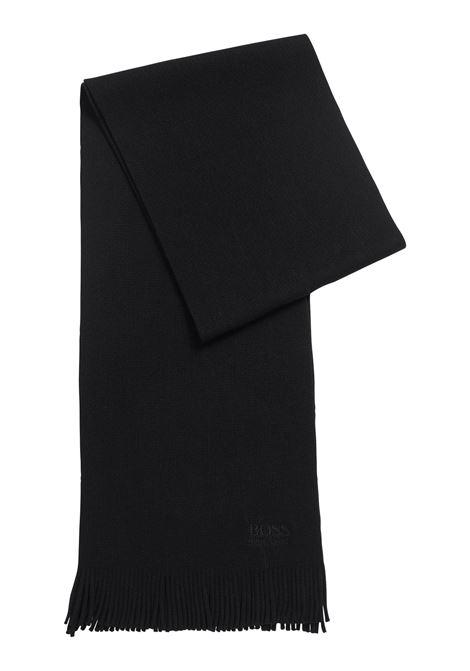 Sciarpa oversize in maglia lavorata in pura lana BOSS | Sciarpe | 50416259001