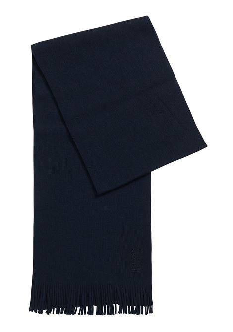 Sciarpa oversize in maglia lavorata in pura lana BOSS | Sciarpe | 50416259402