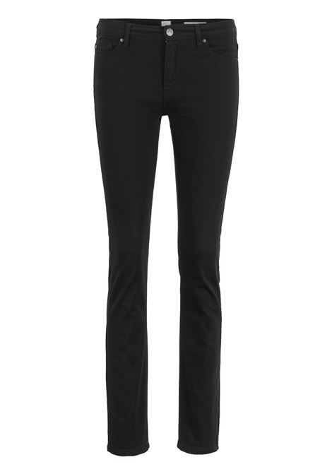 Slim-fit jeans in ultra-black denim BOSS | Jeans | 50416335001