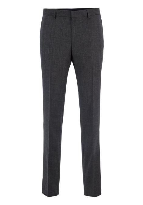 Pantaloni slim fit in lana vergine mélange BOSS | Pantaloni | 50417695061