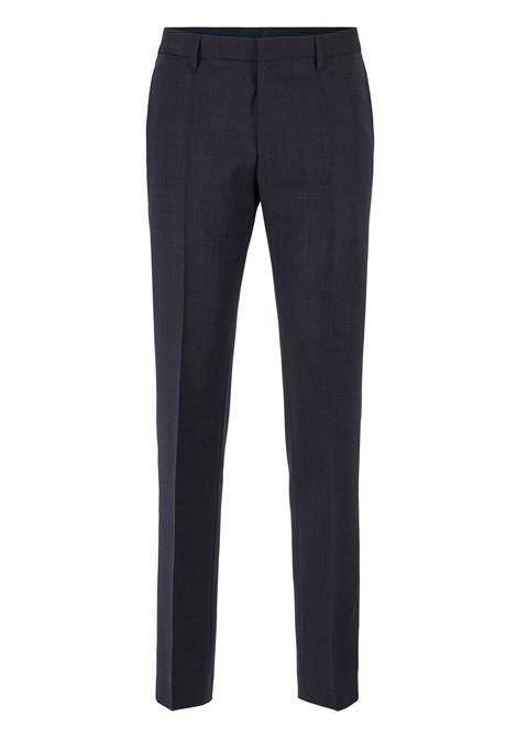 Pantaloni slim fit in lana vergine mélange BOSS | Pantaloni | 50417695417