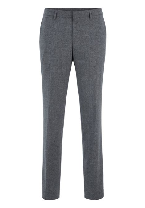 Pantaloni slim fit in lana vergine lavabile BOSS | Pantaloni | 50417883030