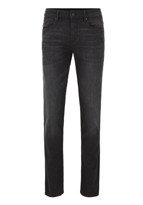 Jeans extra slim fit in cotone elasticizzato nero BOSS | Jeans | 50418198003