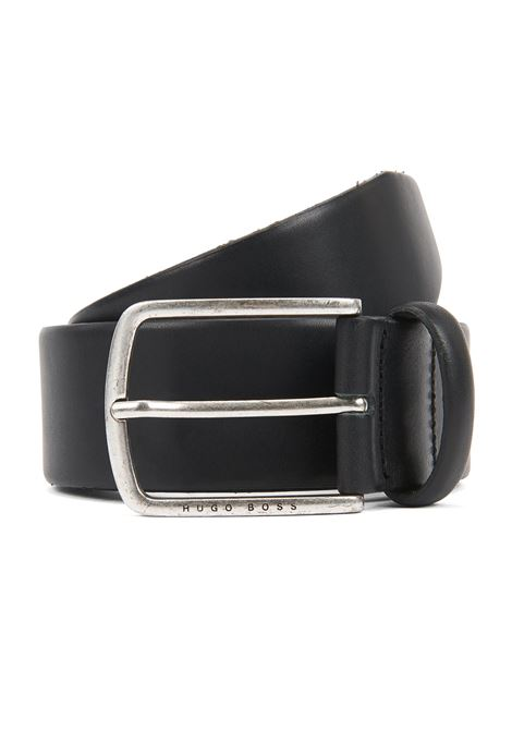 Pin-buckle belt in cuoio leather with brushed hardware BOSS | Belt | 50419319001