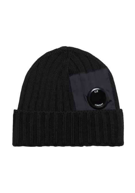 MERINO WOOL HAT C.P. COMPANY | Hats | 07CMAC276A005509A999