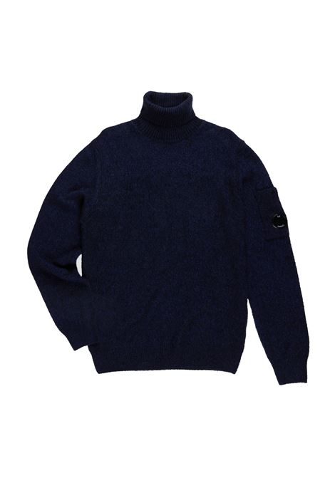 Fleece Knit Roll Neck C.P. COMPANY | Sweaters | 07CMKN157A005523A876