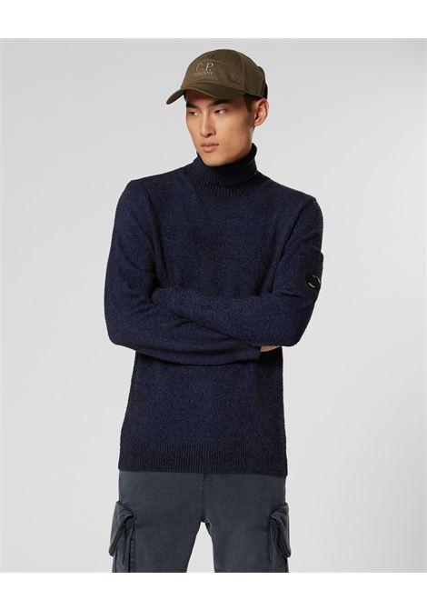 Fleece Knit Roll Neck C.P. COMPANY | Knitwear | 07CMKN157A005523A876
